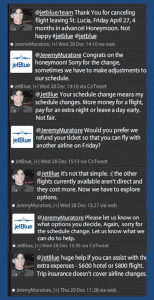 JetBlue Twitter Customer Service Conversation